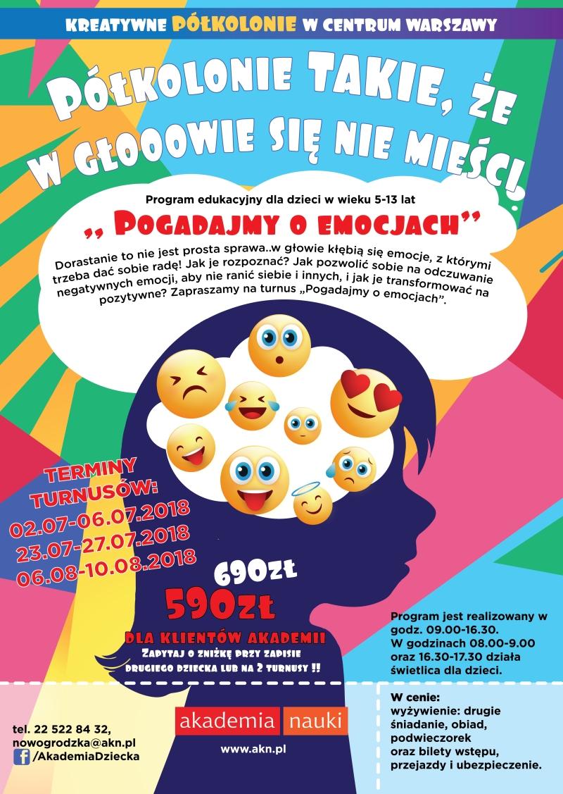 kolonie dla dzieci Warszawa