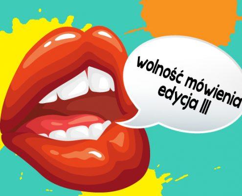 wolność mówienia język angielski