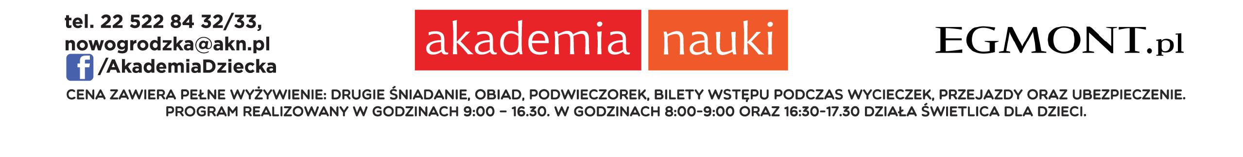 akademia nauki Warszawa stopka