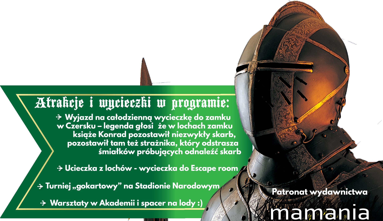 półkolonie dla najmłodszych Warszawa