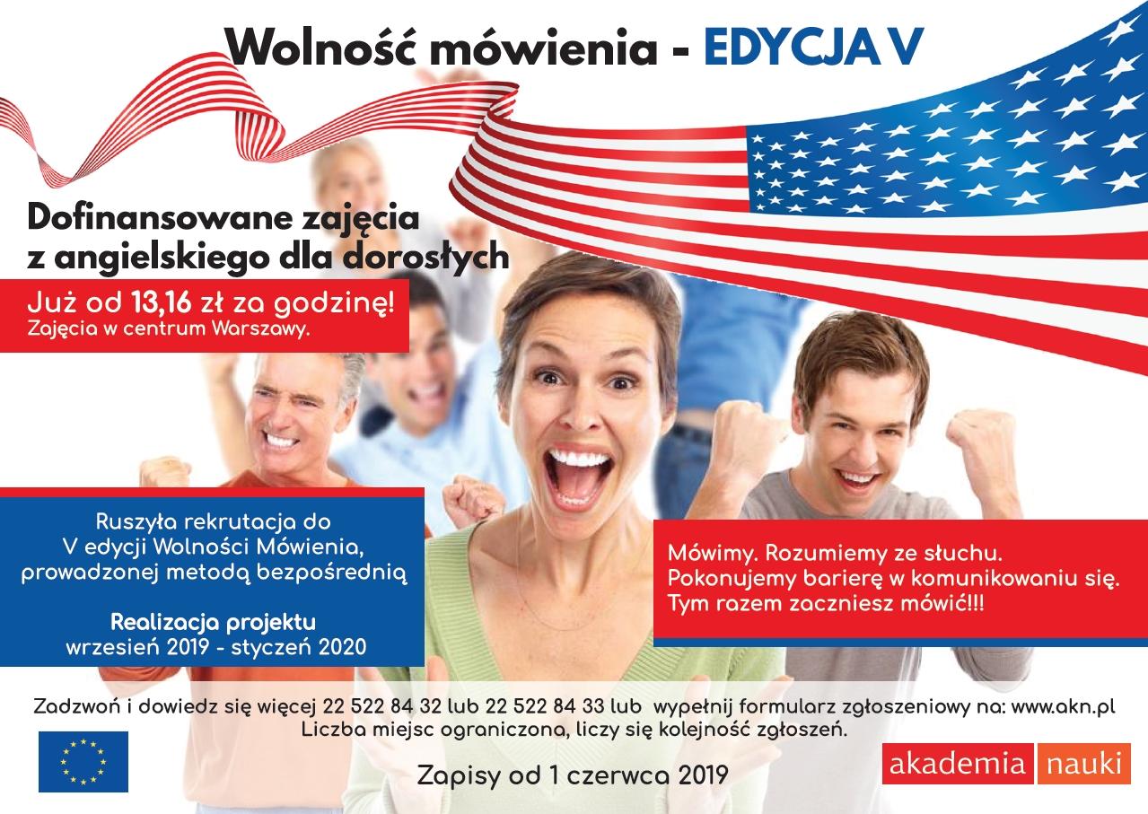 zajęcia z angielskiego w Warszawie dla dorosłych