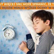 sen ważny dla pracy mózgu