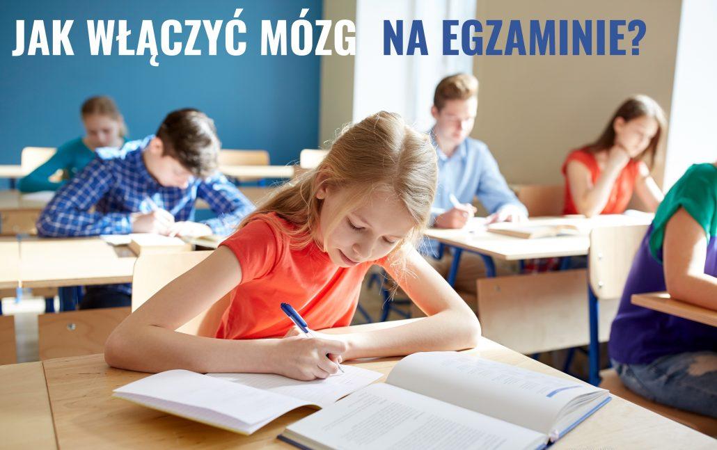 Dzieci na egzaminie